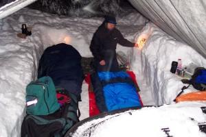 Improvising Winter Camping Gear