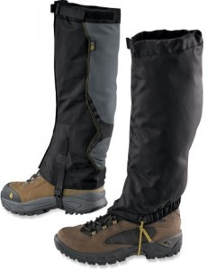Gaiters for Snowshoeing