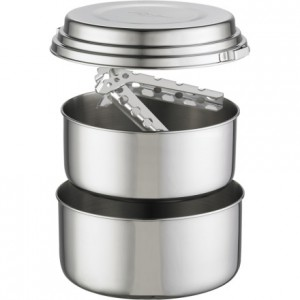 Stainless Steel Camping Pots